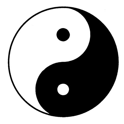 YIN YANG : A Chinese Tao picture of universal harmony and the unity ...